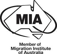 Logotipo De MIA - Member of Migration Institute of Australia